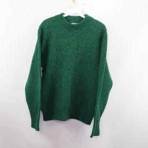 90s LL Bean Mens Medium Crewneck Sweater Wool